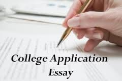 Need help writing college application essay